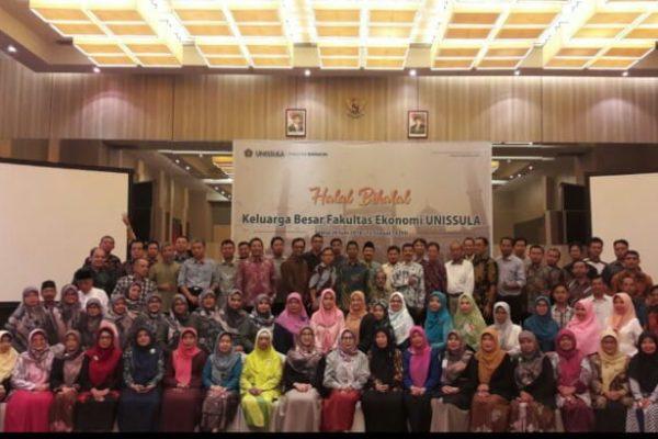 Halal bi Halal Fakultas Ekonomi Unissula