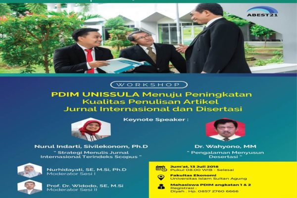 WORKSHOP PDIM UNISSULA