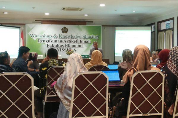 Workshop & Knowledge Sharing Penyusunan Artikel Ilmiah